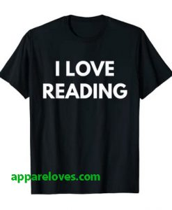 I Love Reading t-shirt thd