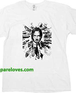 John Wick Keanu Reeves T-Shirts thd