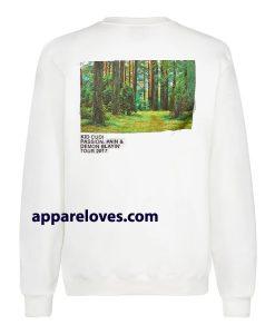 Kid Cudi x Virgil Merch Sweatshirt (back)