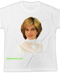 Lady Diana T Shirt Queen Of Our Hearts THD