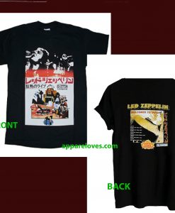 Led Zeppelin Welcome to Japan T Shirt(2side) THD