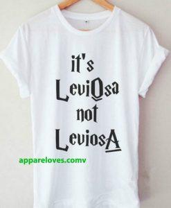 Leviosa Not Leviosa Harry Potter Shirt thd