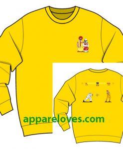McDonald vs KFC Sweatshirt thd
