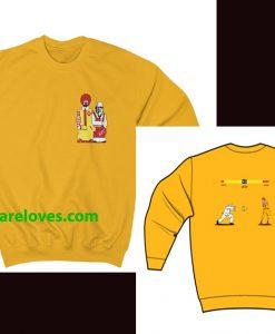 McDonald vs KFC Sweatshirt(2side) THD