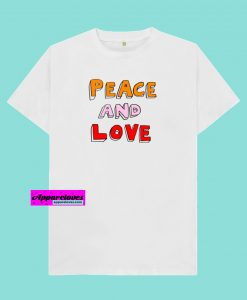 Peace And Love T-shirt THD