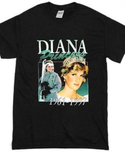Princess Diana T-Shirt thd