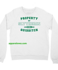 Property Of Slytherin Quidditch Sweatshirt thd