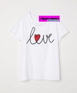 RED LOVE T-shirt THD