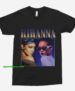 Rihanna Vintage Unisex T-Shirt thd