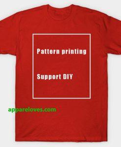 Rihanna diy pattern printingT Shirt thd