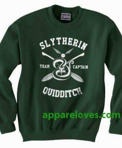 Slytherin Quidditch Team Captain Sweatshirt thd