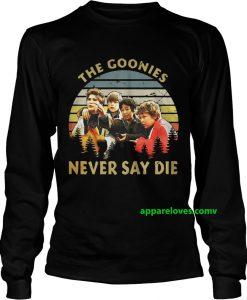 The goonies never say die sunset sweatshirt thd