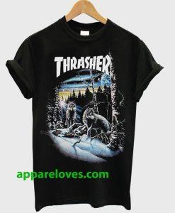Thrasher 13 wolves T-Shirt THD