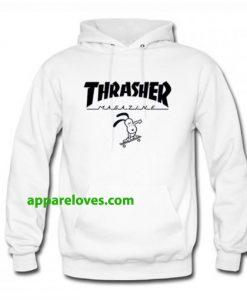 Thrasher Magazine x Snoopy Hoodie THD