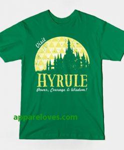 VISIT HYRULE T-Shirt thd