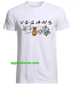 Vegans Friends T-Shirt thd