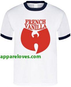 Wutang French Vanilla Hip Hop Music Ice Cream T Shirt RING THD