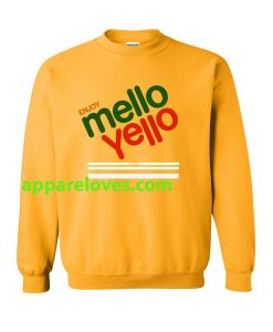 enjoy mello yello sweatshirt THD