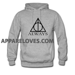 harry potter deathly hallows always HOODIE THD
