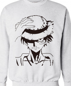 luffy winter SWEATSHIRT THD