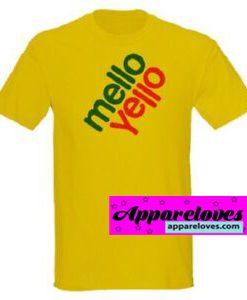 mello yello shirt THD