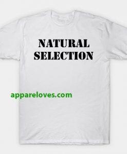 natural selection t shirt thd