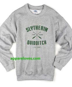 slytherin quidditch sweatshirt thd