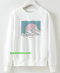 And So It Is Wave Sweatshirt THD