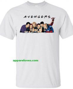 Avengers friends t shirt THD