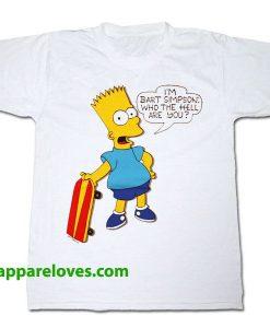 Bart Simpson T Shirt THD