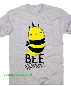 Bee different quote t-shirt thd