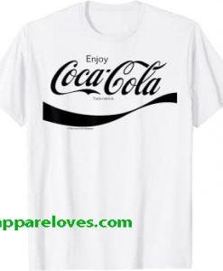 Coca-Cola Black Enjoy Logo T-Shirt THD
