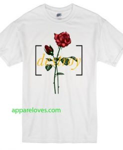 Destroy Red Rose T-shirt thd