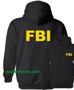 FBI Federal Bureau of Investigation Hoodie thd 2side