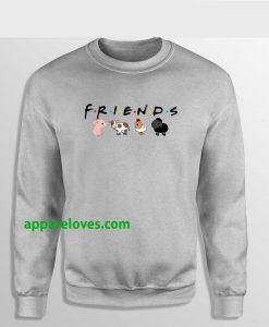 Friends Not Food Sweatshirt THD