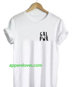 Girl Power grl pwr t shirt thd