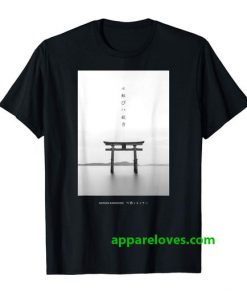 Japanese Aesthetic Torii Arch shirt thd