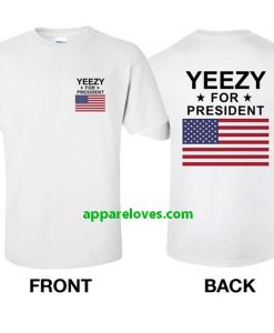KANYE WEST Yeezy For President T Shirt thd