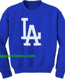 LA Dodgers Blue Sweatshirt thd