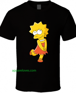 Lisa Simpson The Simpsons shirt thd