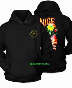 NIce One Flower Hoodie(2side) thd