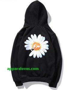 Peaceminus One Flower Hoodie back thd