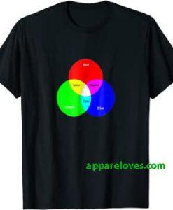RGB Additive Colors T-Shirt THD