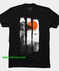 Scenic forest t shirt thd