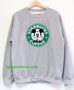Starbucks Mickey Coffee Sweatshirt thd