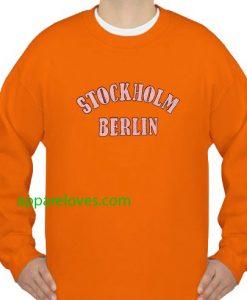 Stockholm Berlin Sweatshirt thd