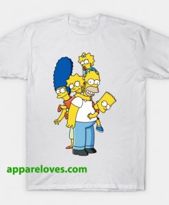 The Simpsons FAMILY T SHIRT THD