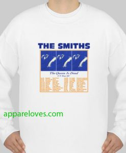The Smiths The Queen is dead Us tour 86 Sweatshirt thd
