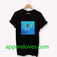 Vintage Nirvana Nevermind Album T-Shirt thd