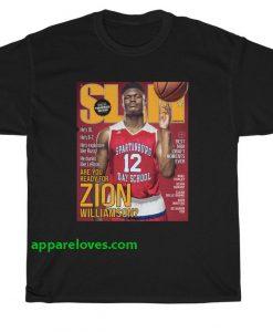 Zion Williamsion SLAM Cover T-Shirt thd